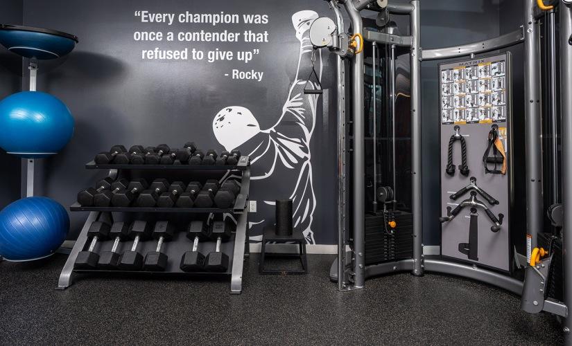 Lobby & Gym